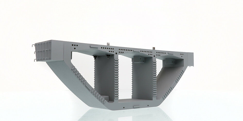 Set of 2 Weiss Brothers WBR016 Precast Bridge Box Girders - Crane Load 1/50 MIB