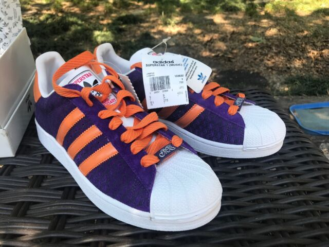 Adidas Superstar Shoes Missy Elliot Music 35th Anniversary Rare Size 9.5