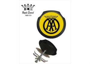ROYALE BLACK CAR GRILL BADGE THE AA AUTOMOBILE ASSOCIATION B2B.1333