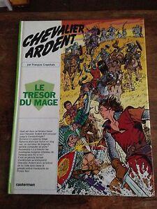 le-tresor-du-mage-1975-chevalier-ardent-francois-craenhals-BD-ancienne-casterman