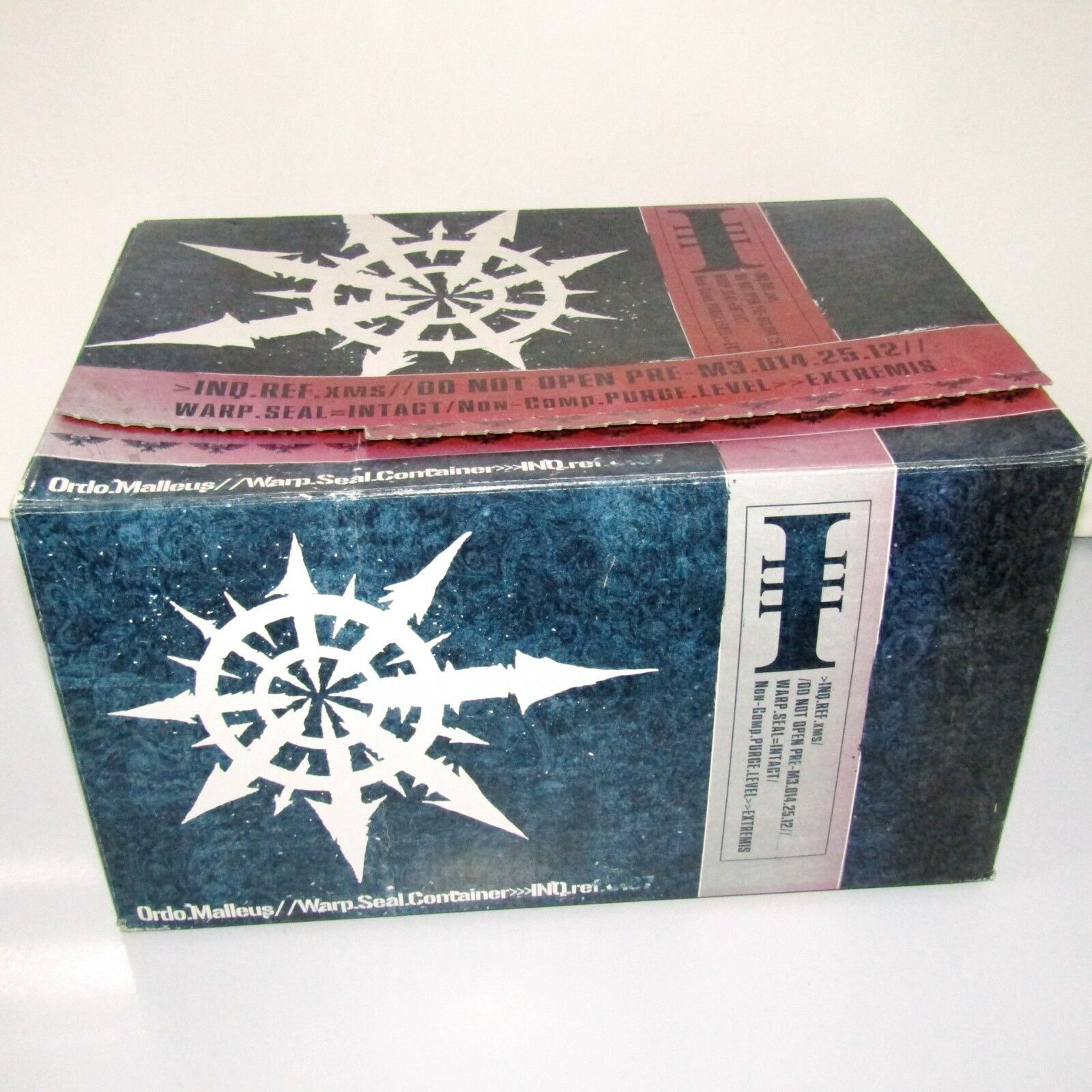 Games Workshop Ordo Malleus Warp Seal Container Promotional Storage Box (USED)