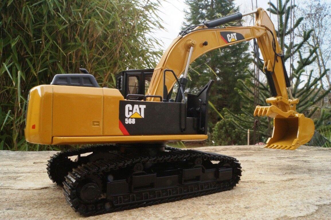 Tonkin 40003   CAT 568GF 568GF 568GF  Road Bagger mit Holzgreifer  1 50   Neu OVP 30fbcd