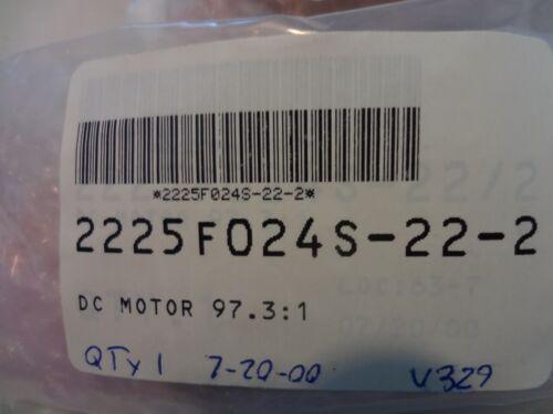 ADE 2225F024S-22-2 DC Motor 97.3:1