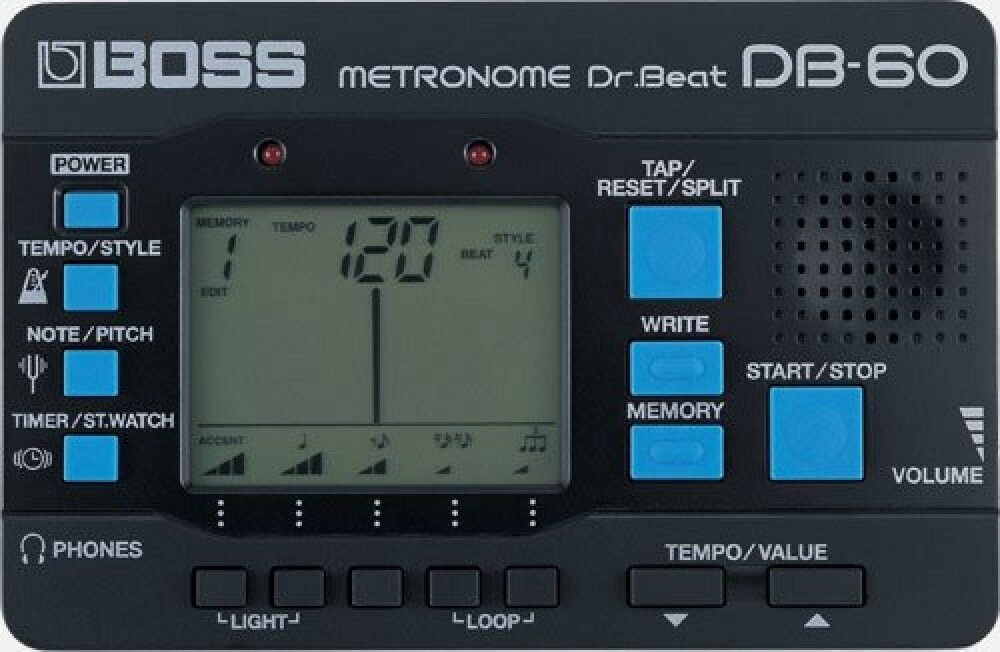 Details about  BOSS Dr. Beat Digital Metronome DB-60