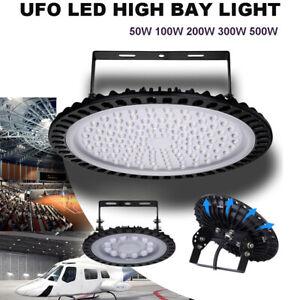 UFO-LED-High-Bay-Light-50-100-200-300-500W-Low-Bay-Warehouse-Industrial-Lights