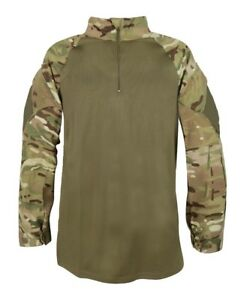 Details about GENUINE BRITISH ARMY SURPLUS ISSUE MOISTURE WICKING MTP UBACS  COMBAT SHIRT UK