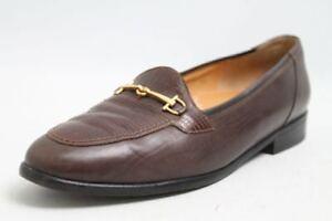 Schneider-Schuhe-braun-Leder-Slipper-Gr-38-UK-5