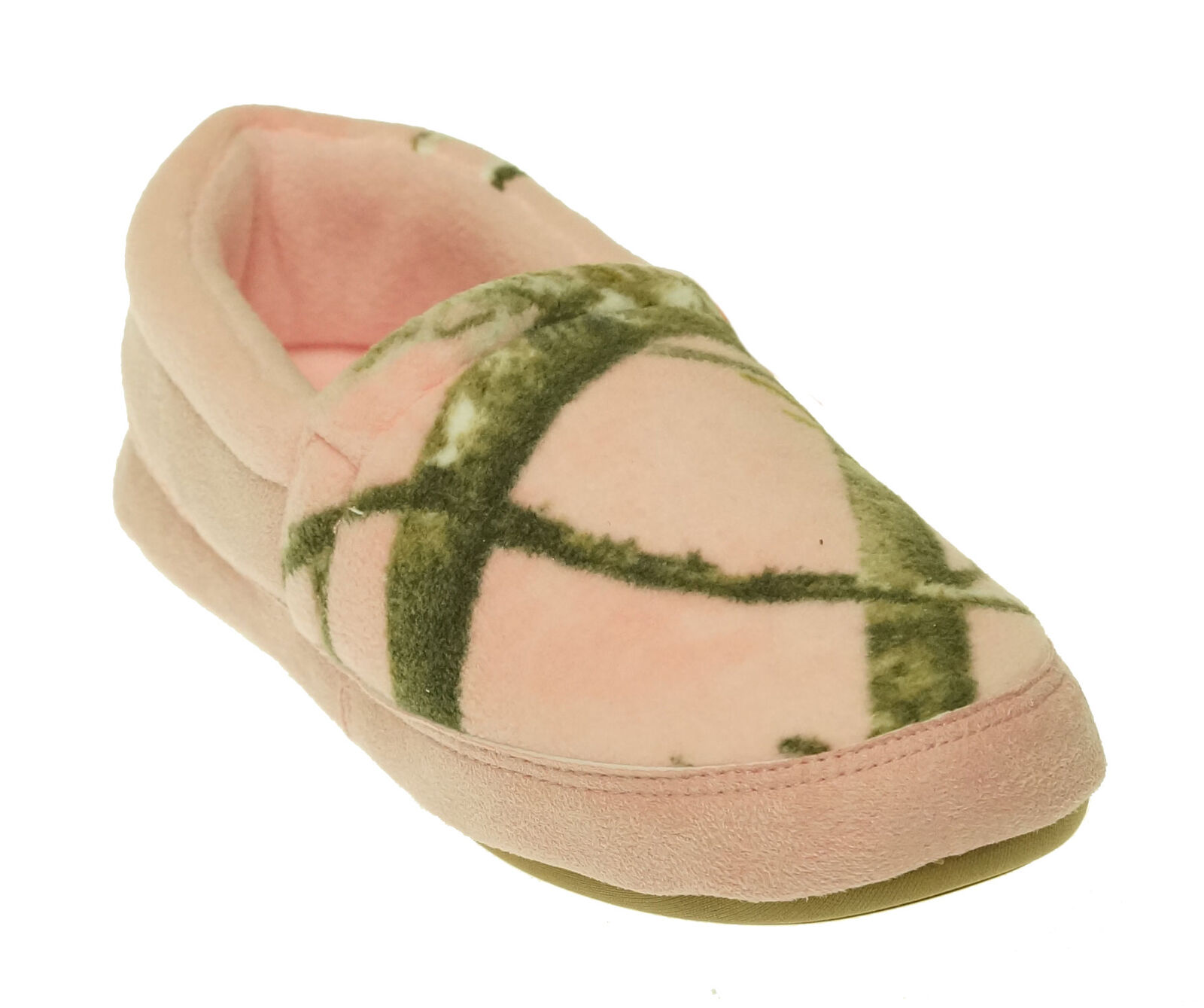 Pro Line Women's Winchester Closed Back Slip On Slippers Pink Camo