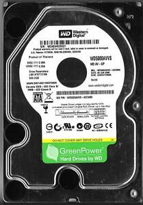 DCM HGNCHT2MAN WD5000AAVS-00G9B1 Western Digital 500GB SATA 3.5 Hard Drive