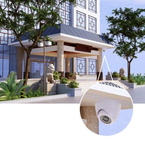 24IR LED 1200TVL Home Dome Outdoor Camera Surveillance Night Vision Security Cam