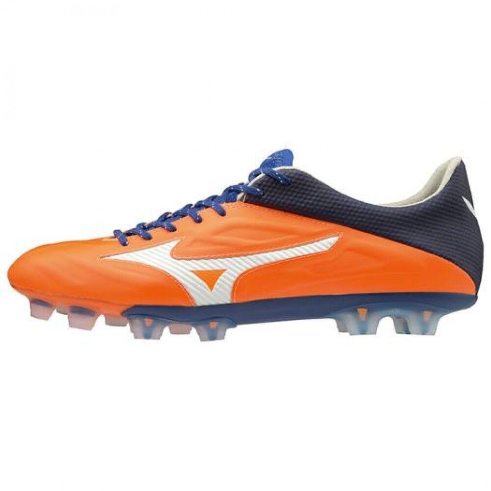 Zapatos de fútbol de Mizuno Spike Rebula 2 V1 P1GA1971 Naranja × × blancooo Azul