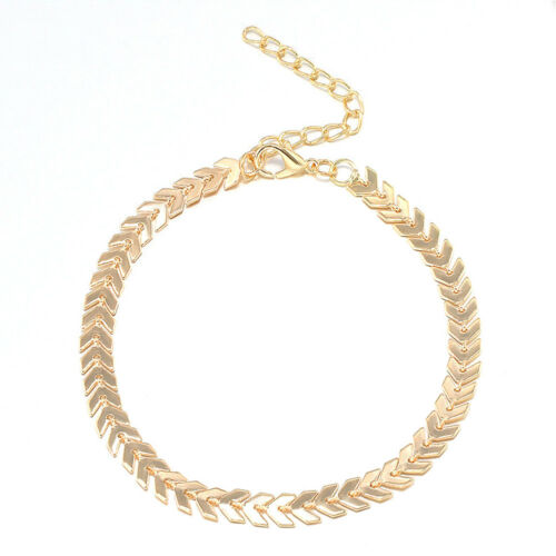 HOT Women Gold Barefoot Ankle Chain Anklet Bracelet Foot Jewelry Sandal Beach