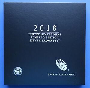 us mint limited edition silver proof set 2018