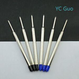 6X-Compatible-Parker-Ball-Point-Pen-Refills-3-Black-amp-3-Blue