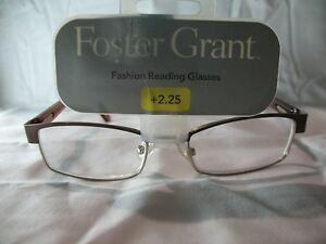 84ce88cce33 Foster Grant Molly Brown Fashion Reading Glasses +1.25 1.75 2.25 ...