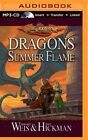 Dragons of Summer Flame by Margaret Weis Mp3 CD Book English