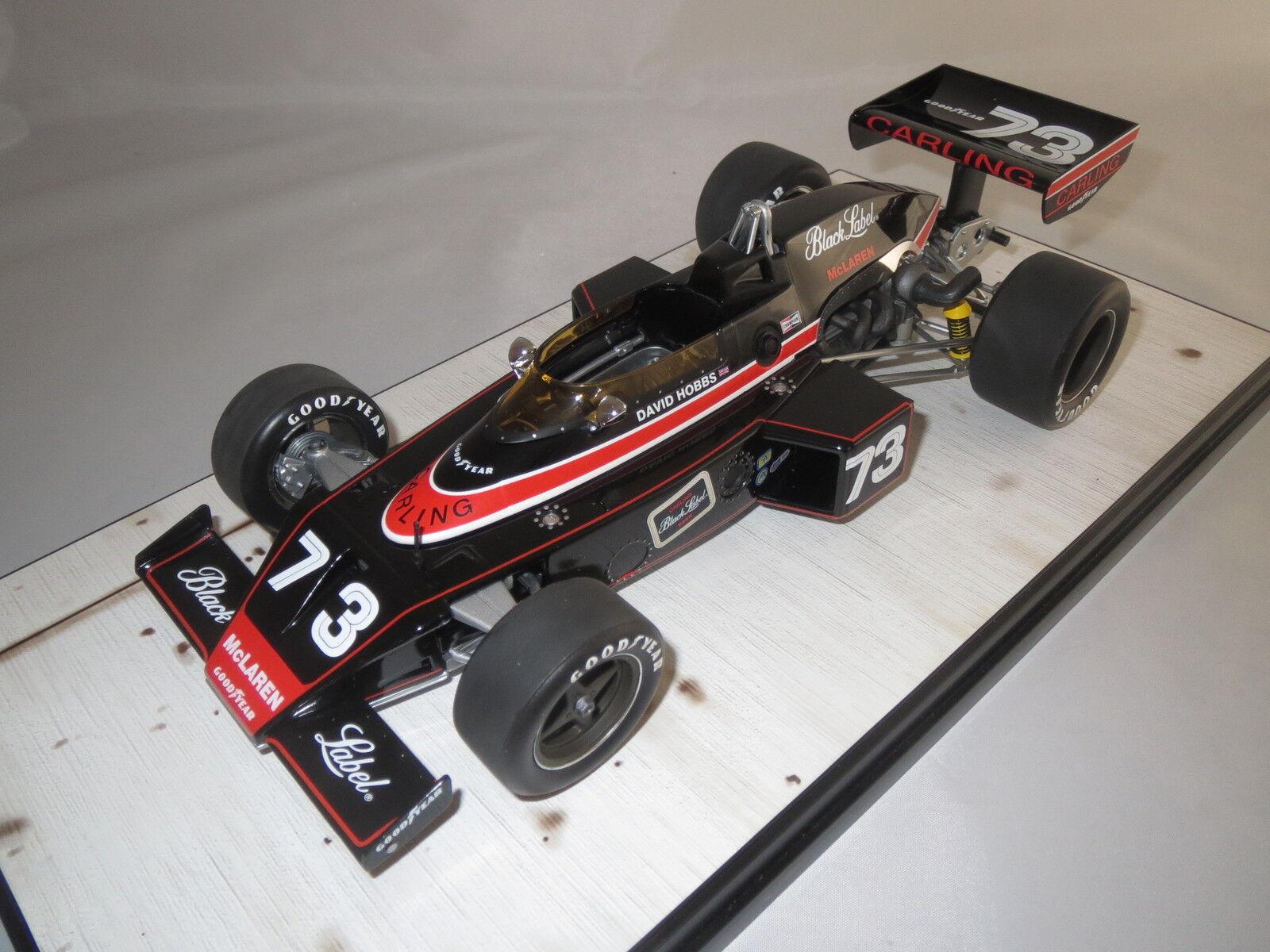 autoousel 1  1974  McLaren m16 Indianapolis 500  David Hobbs   73 1 18 OVP