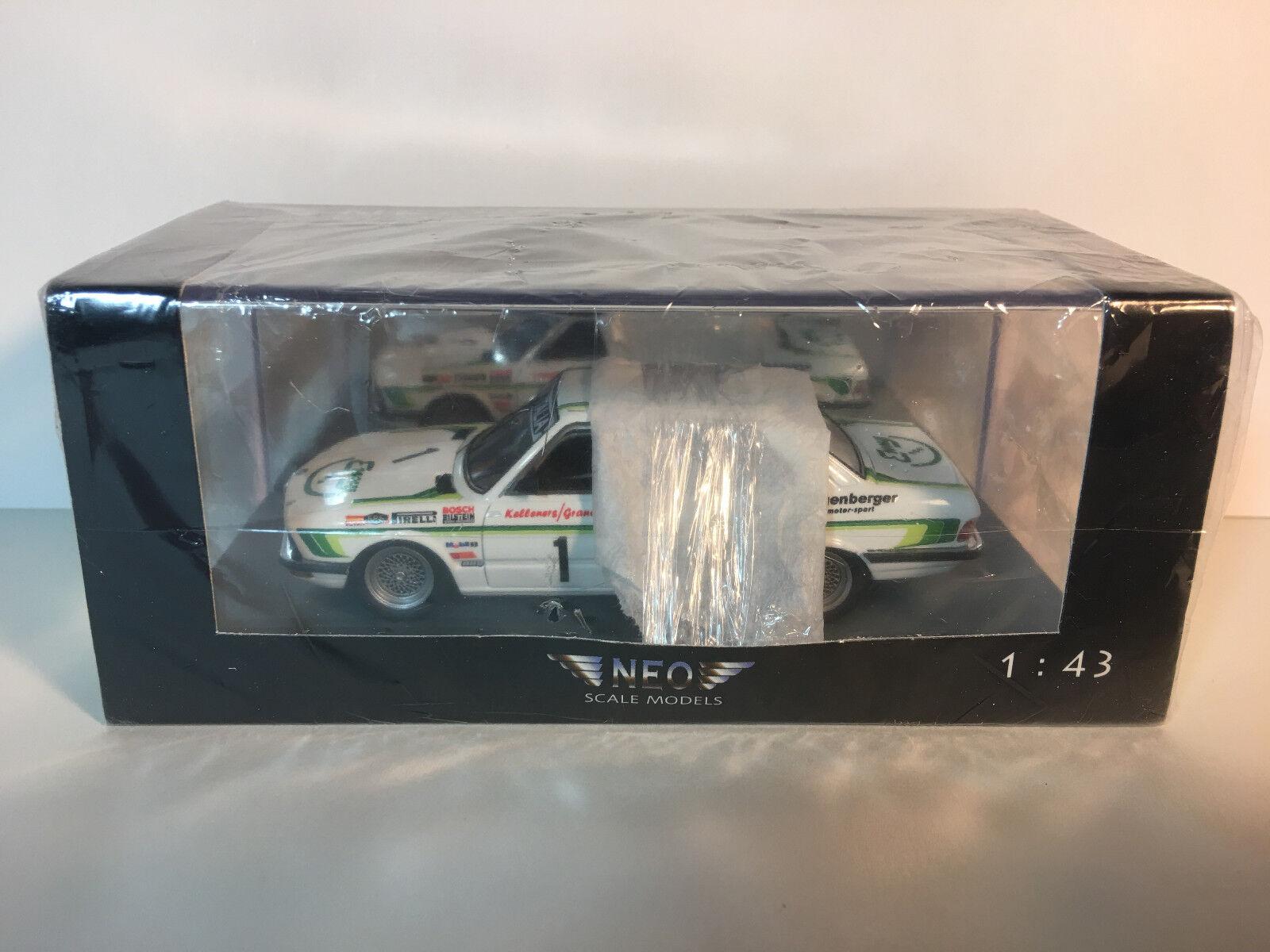 1 43 Neo 1982 BMW 528i European Touring Car Championship