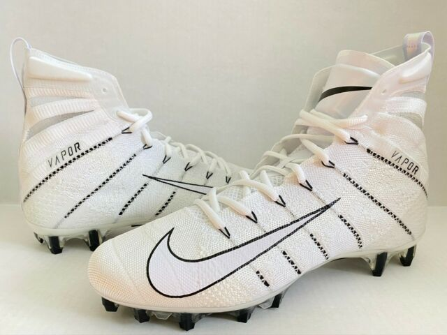 Nike Vapor Untouchable 3 Elite Flyknit Nfl Football Hitop White Men 11 5 Ah7408 For Sale Online Ebay