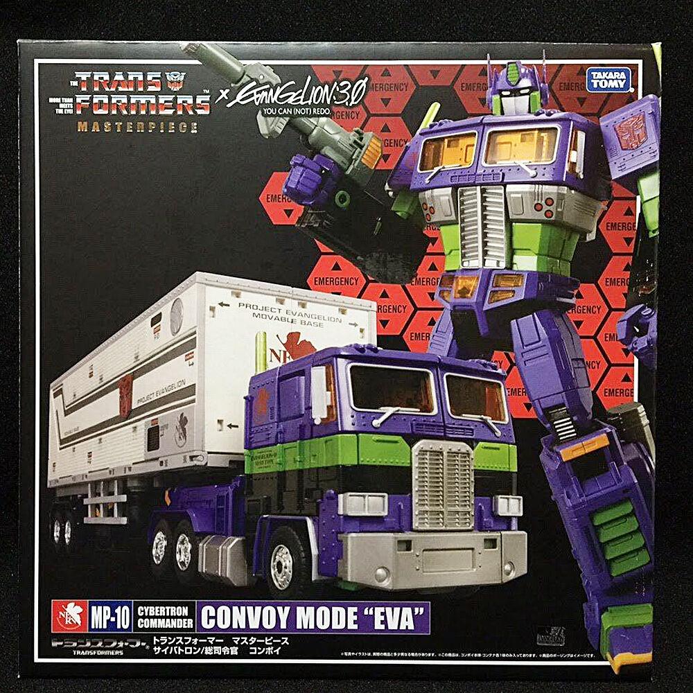 Takara Transformers Masterpiece CONVOGLIO modalità EVA MP-10 OPTIMUS PRIME UK