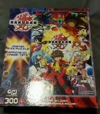BAKUGAN BATTLE BRAWLERS POSTER SIZE PUZZLE 300 PCS NEW NIB