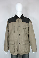 Orvis newsland field jacket XL hunting waxed cotton beige brown mint $325