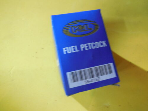 Petcock 89-15 YAMAHA YZ125 YZ250 New K/&L Fuel Valve Tap Shut Off 18-4152