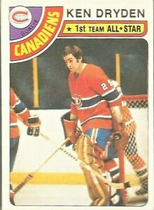 1978-79-Topps-Hockey-Ken-Dryden-Montreal-Canadiens-All-Star-Card-50