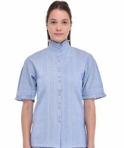 Blouse Blouse Chambray Cotton Blouse Blue Cotton Cotton Blue Cotton Chambray Blue Chambray Chambray Chambray Blue Blue Blouse R4ABwf