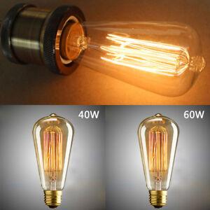 ST64-40W-60W-Tungstene-Ampoule-E27-Vintage-Edison-Style-Filament-Showrooms