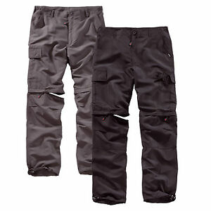 SURPLUS-OUTDOOR-TROUSERS-QUICK-DRY-Trekking-Zip-Off-Cargo-Hose-Savannah-Function