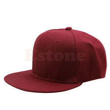 Hot Blank Plain Snapback Hats Unisex Men s Hip-Hop Adjustable B-boy  Baseball Cap ef0a6f850851