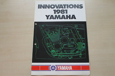 Innovations The Best 165433 Prospekt 1981 Yamaha