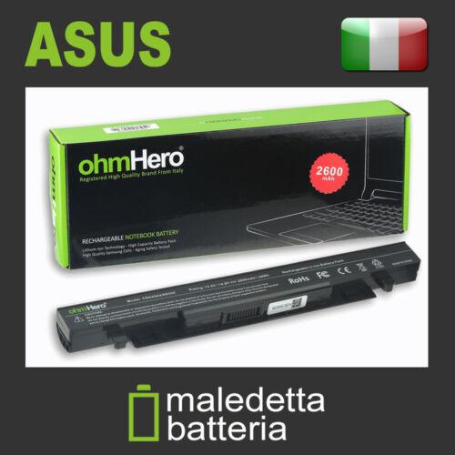 Batteria Ohmhero™ 14.4-14.8V 2600mAh REALI per Asus P550C
