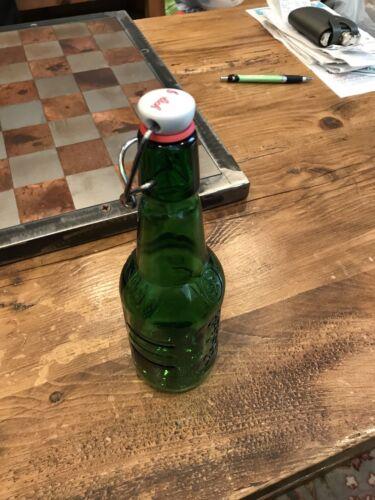 Grolsch Swing Top Bottle Green Glass 15.2 Oz