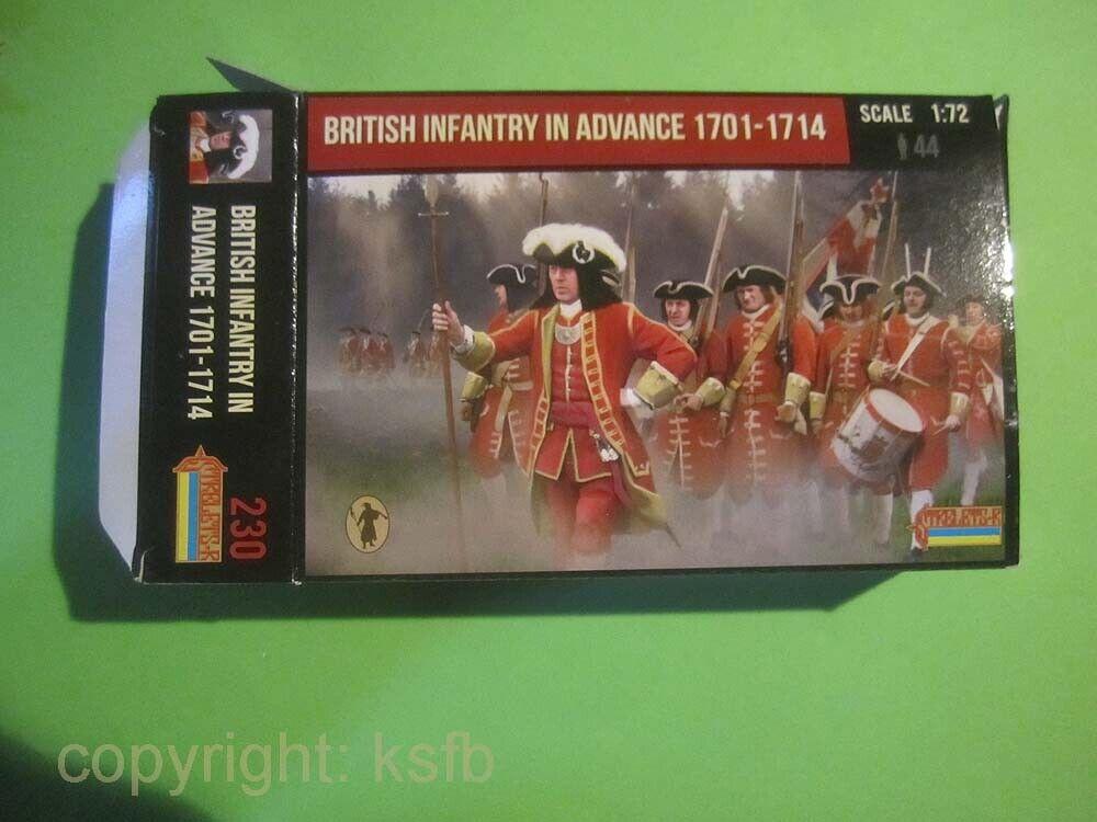 1:72 A Call to Arms #65 US Unabhängigkeitskrieg Britische Infanterie von 1775
