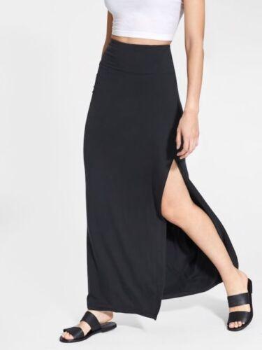 Black NWT ATHLETA Marina Maxi Skirt Medium