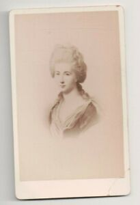 Vintage-CDV-Charlotte-Buff-Kestner-Inspiration-for-Lotte-in-Goethe-039-s-novel