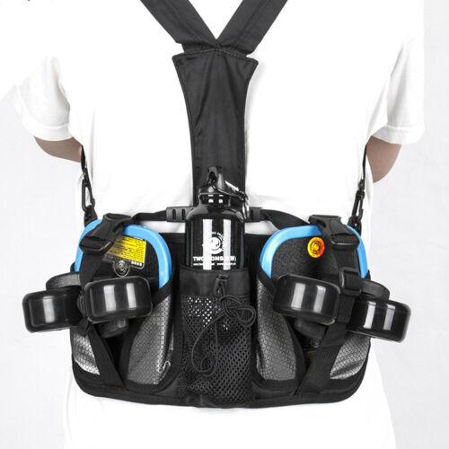 TWOLIONS Handbag Bag Waist Bag Backpack Black For Drifting Free Line Skates