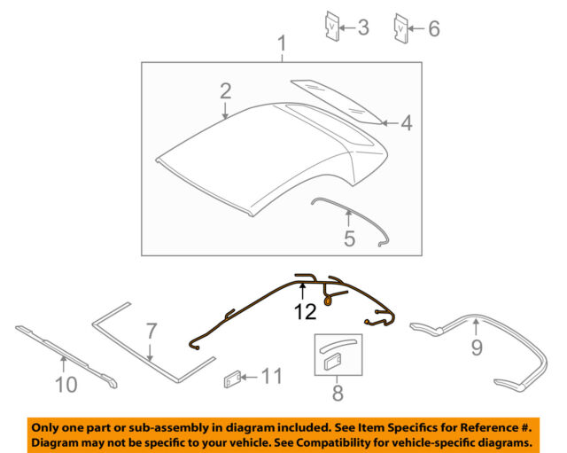 Audi 8f0972811a Genuine Oem Wire Harness For Sale Online Ebayrhebay: Harness View Diagram Jeep Cj5 Wiring Ebay At Gmaili.net