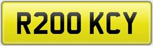 ROCKY-PRO-BOX-CAR-NUMBER-PLATE-R200-KCY-VERY-RARE-BOXING-REG-FOR-AMATEUR-CLUB
