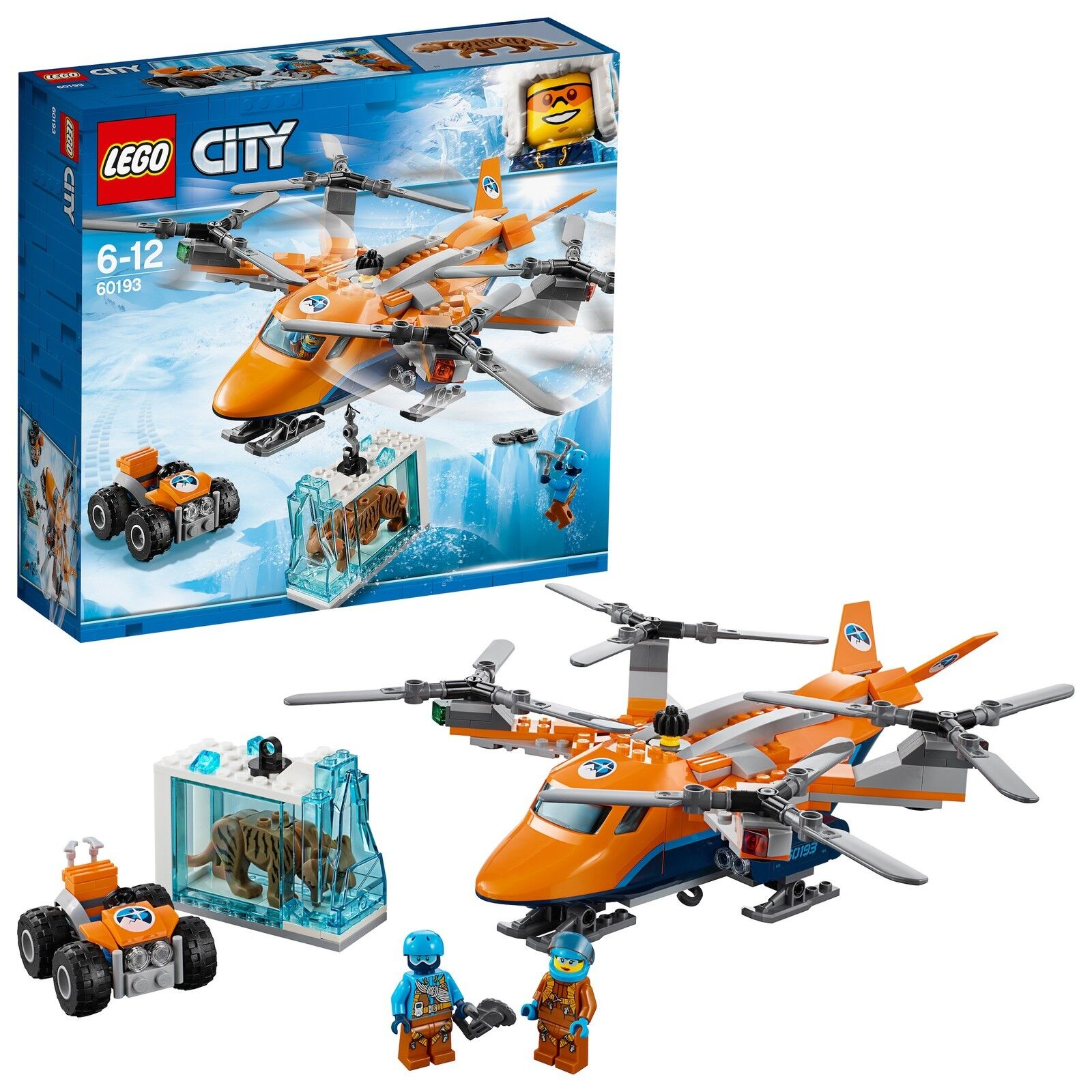 LEGO® City 60193 Arktis-Frachtflugzeug NEU OVP_ Arctic Air Air Air Transport NEW MISB 85b76e
