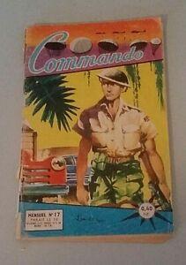 Bd Petit Format Commando N° 17 1961 Artima