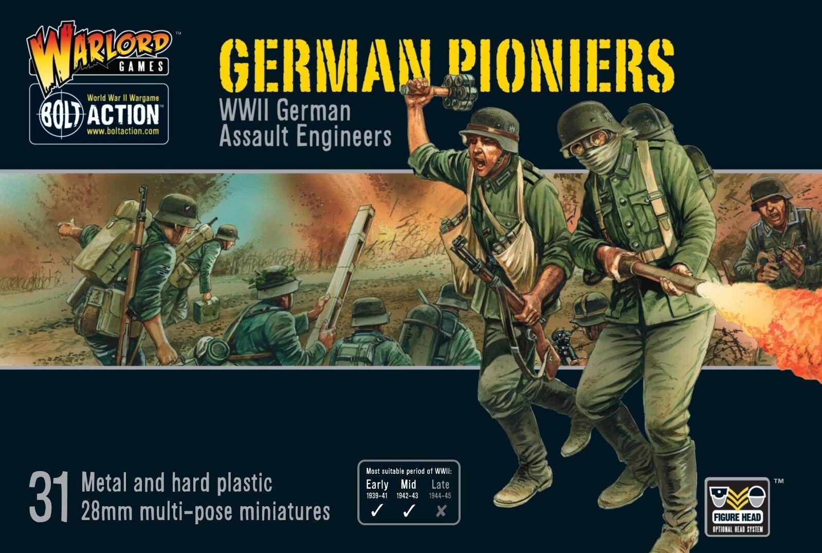 Warlord Juegos Perno acción pioniers alemán