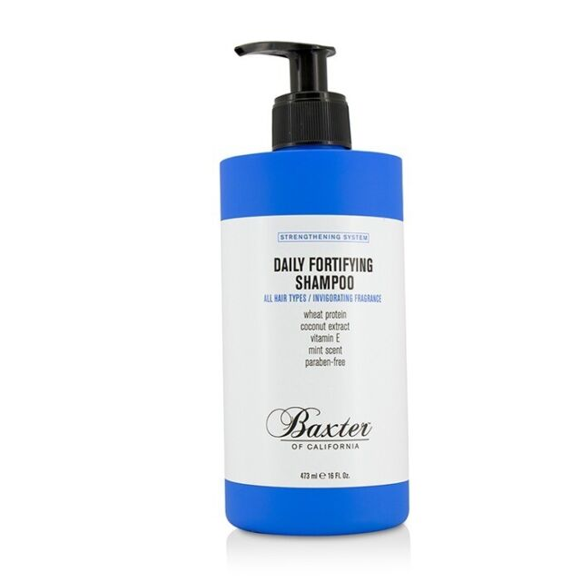 Baxter Of California Strengthening System Daily Fortifying Shampoo (All 473ml