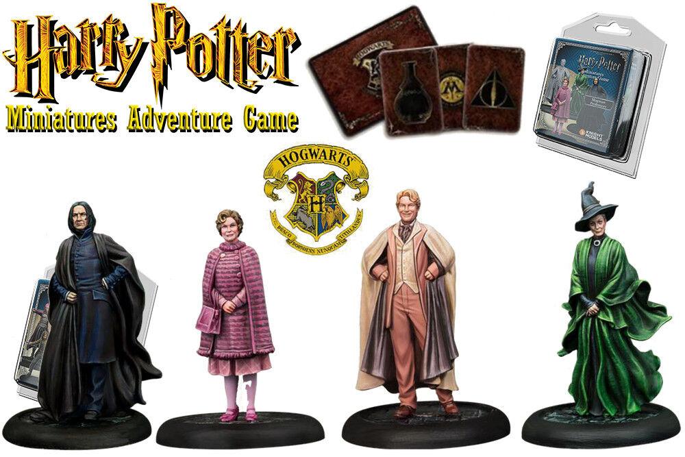 HARRY POTTER    Miniaturen Abenteuer GAME -Hogwarts Professorinnen und Professoren ff9ea6