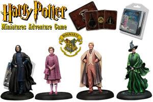 Harry Potter: Jeu d'aventure en miniature - Expansion des professeurs de Poudlard