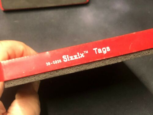 Sizzix Large Red Original Die Cuts YOU CHOOSE