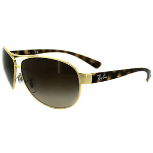 Ray-Ban-Sunglasses-3386-001-13-Gold-Brown-Gradient-Small-63mm