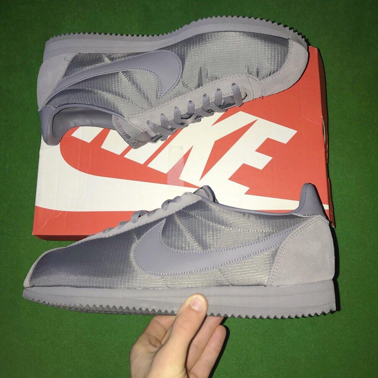 Cortez Taille Neuf Classic Gunsmoke Nike Gris Boite Avec n08PkXZNwO